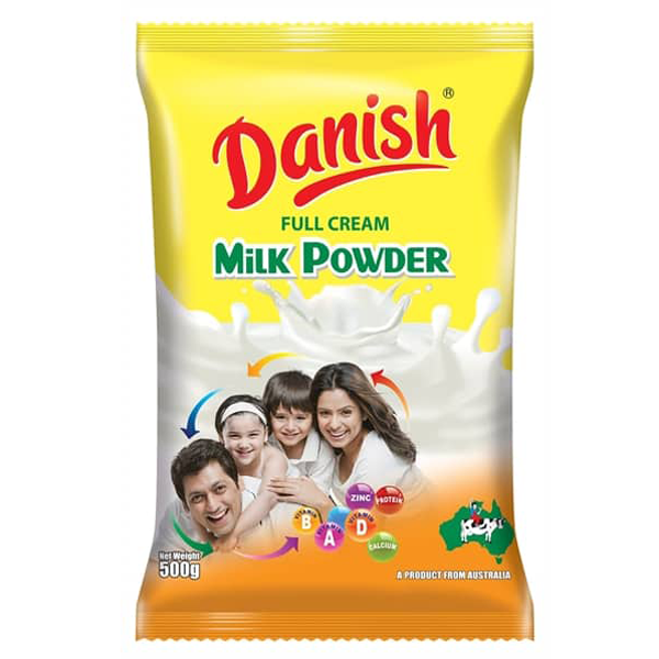 Danish Full Cream Milk Powder 500 gm
