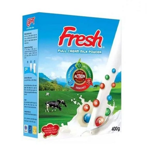 Fresh Full Cream Milk Powder 400 gm