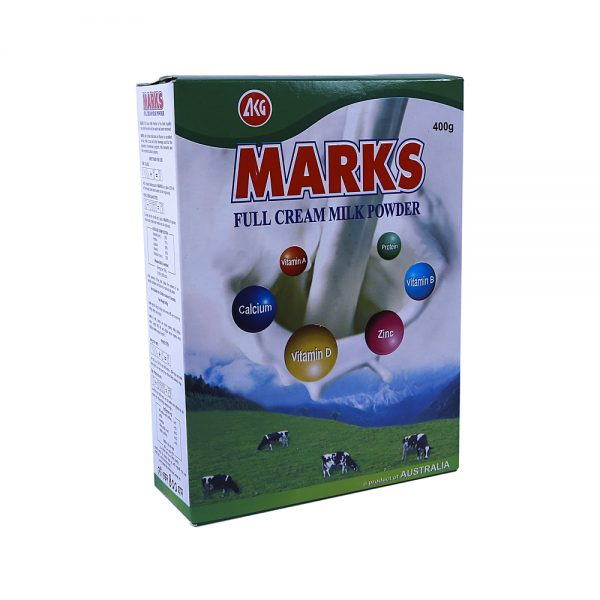 Marks Full Cream Milk Powder 400 gm