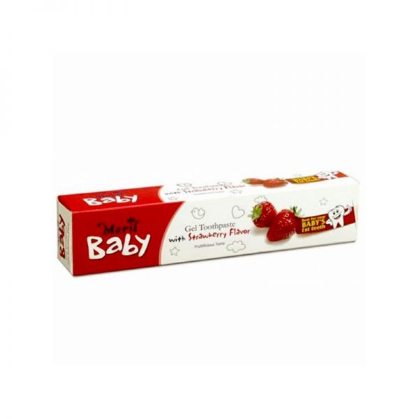 Meril Baby Gel Toothpaste Strawberry 45gm