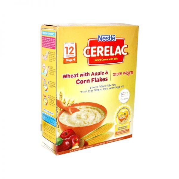 Nestlé Cerelac 12 months (Wheat+Apple+Corn Flakes) 400 gm