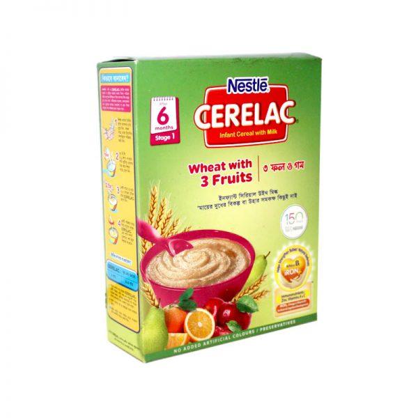 Nestlé Cerelac 6 months (Wheat+3 Fruits)