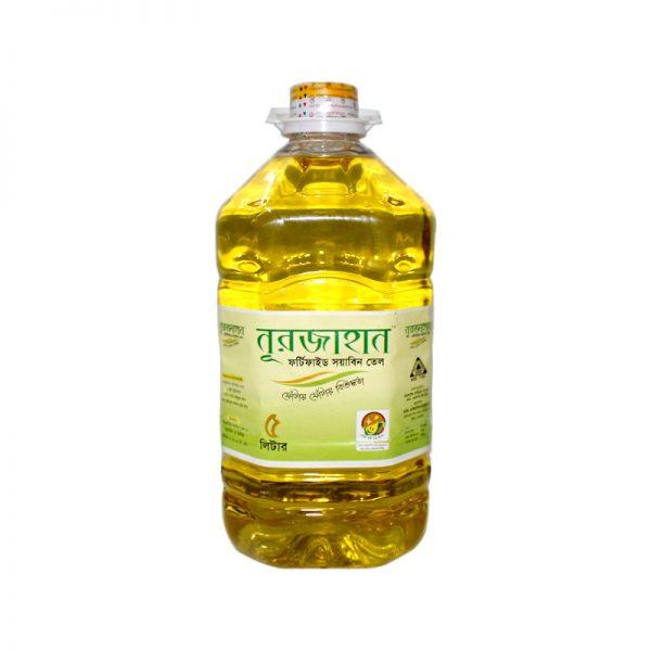 Nurjahan Fortified Soyabean Oil 5L