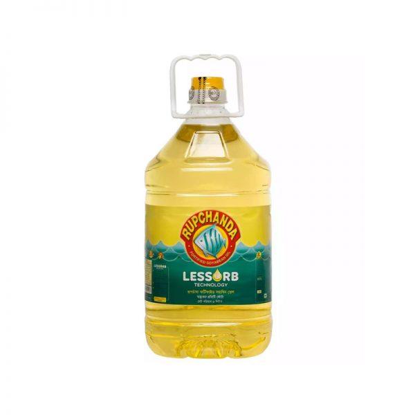 Rupchanda Soyabean Oil 5L