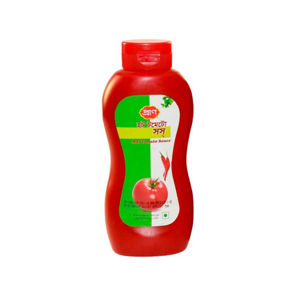 Pran Hot Tomato Sauce 550 gm